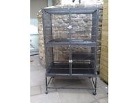Large Two Tier Metal Animal Cage