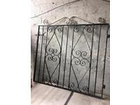 wrought iron garden gate £15
