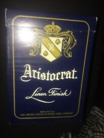 Arisrorrat Linen Finish Playing Cards - Opened