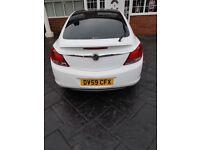 White Vauxhall Insignia