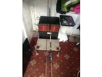 Boss box and pro specimen carp rod n reel