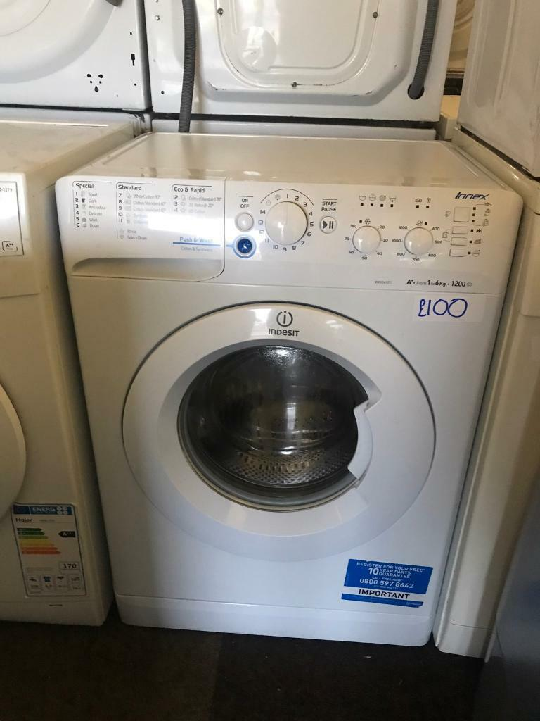 EXCELLENT NEW LIKE INDESIT WASHING MACHINE WITH GENUINE GUARANTEE