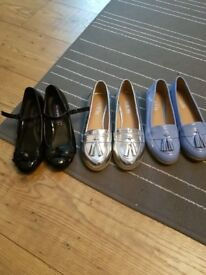 Girls party shoes. Size 12/13