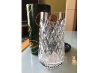 Tyrone crystal vase