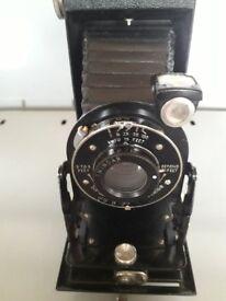 for sale a vintage folding Kodak camera