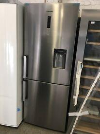 Samsung RL4362FBASL G-series Silver 70cm Wide Freestanding Fridge Freezer With Easy Clean Doors