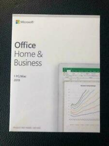 Microsoft Office 2019 & 2016 for Mac Home and Business (Mac Edition/Lifetime Version) *No Annual Fees*