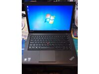 "lenovo thinkpad t440 ultrabook core i5-4300u @ 2.50ghz (500gb,8gb single ram) 14"" screen 4th gen"