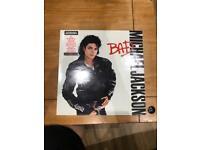 Michael Jackson Bad Vinyl