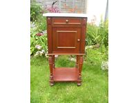 French bedside table - Antique Potty cabinet