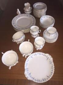 ROYAL ALBERT MEMORY LANE DINNER AND TEASET