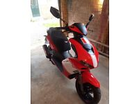 Lexmoto diablo 125, lovely little scooter only done 2 miles