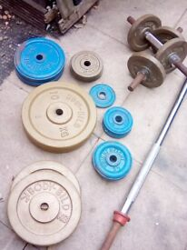 cast iron weights set of 80 kg