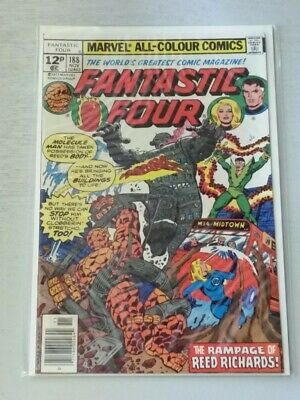 FANTASTIC FOUR #188 NM (9.4) MARVEL COMICS NOVEMBER 1977*