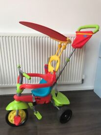 Smart trike multicolour