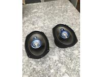 Sonic 6x9 working car speakers