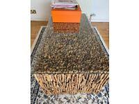 Unique artisan coffee table
