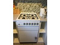 Gas cooker , free standing excellent condition