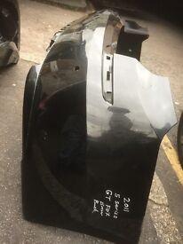 2011 BMW 5 SERIES GT F07 BACK BUMPER