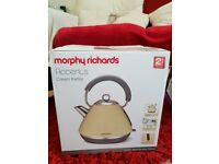 Morphy Richards Accents Kettle, mug tree and kitchen roll holder