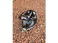 Viper bike helmet full face
