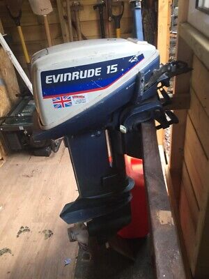 evinrude 15hp outboard
