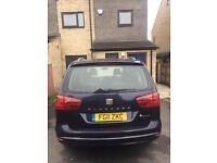 Seat Alhambra leeds taxi plate