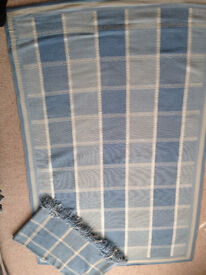 Laura Ashley matching rug and throw