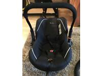 Baby sliver cross car seat