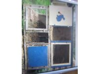 Free rabbit hutch 2 level 2 cages..or can be made into one double tier INVERURIE