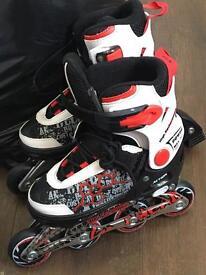 Kids In-Line Skates size 2-3(adjustable)