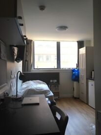 Furnished studio flat in the heart of Glasgow city centre