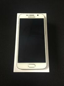 SAMSUNG GALAXY S6 WHITE COLOUR 32GB EXCELLENT CONDITION UNLOCKED