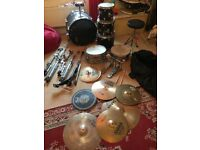 Used premier drum kit
