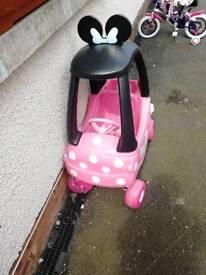 Little tikes Minnie car