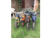 mini dirt bike / mini quad