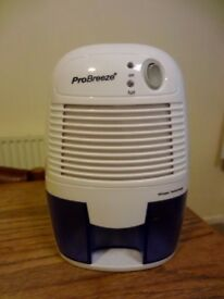 Pro-Breeze compact electric dehumidifier in good condition