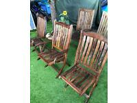 Garden Chairs : Patio Chairs : Teak Chairs
