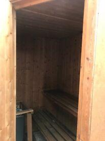 2 / 3 person sauna