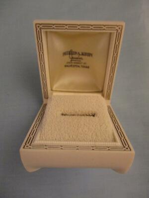 Jewel Box Jewelry Store (Vtg MCM Plastic Ring Box Phillip Kuhn Jeweler Jewelry Store Galveston Texas TX )