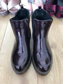 Patent Chelsea Boots - Size 6 - Used For High Fashion Photoshoot