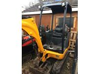 Digger hire and dumper hire digger and driver