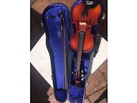 Good quality student Violin,3/4'Sky Lark Brand', Chinese made, serviced by respected Oxford Luthier
