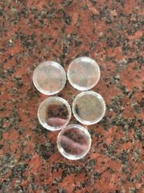 Coin capsules 50p