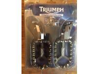 Triumph Machined Footrests - BNIB