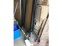 X2 collapsible clothes rails