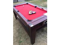 2 in 1 Pool table/ air hockey table