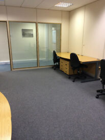 OFFICE / DESK SPACE just off M55 J4