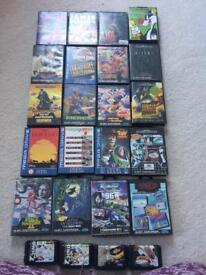 Various selection of Sega Megadrive games for sale