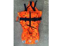 Childrens life vests - various sizes